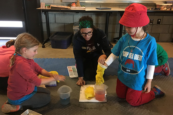 The Marine Mammal Center : A Marine Science Summer Day Camp