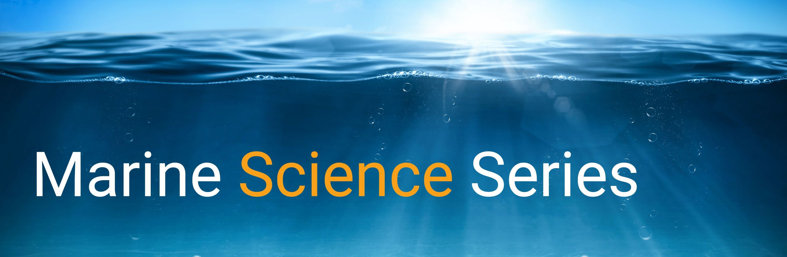 Marine Science Series