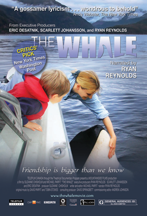 The Whale movie poster