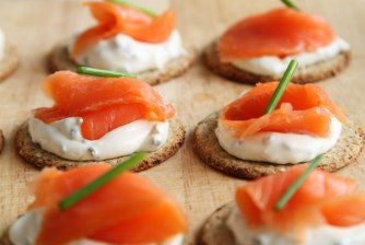 Salmon Crackers