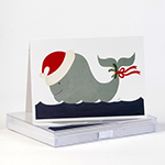 Click here for more information about Whale Holiday Cards
