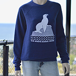 Click here for more information about Sea Lion Crew Neck Sweatshirt