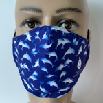 Click here for more information about Adult Dolphin Face Mask - PREORDER
