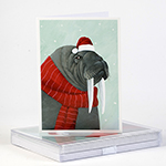 Walrus Holiday Cards