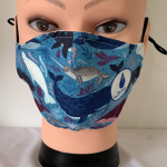 Click here for more information about Whale Face Mask (YOUTH)