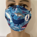 Click here for more information about Whale Face Mask (ADULT) - PREORDER